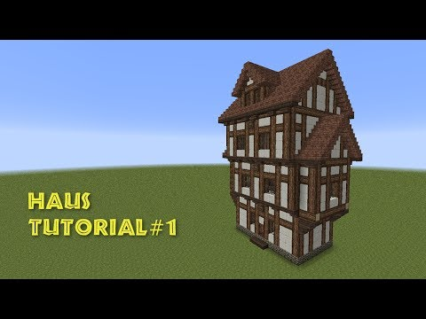 Minecraft Fachwerkhaus Halftimbered House TomClip - Minecraft mittelalter haus download
