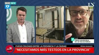 Diego Valenzuela, intendente de Tres de Febrero: