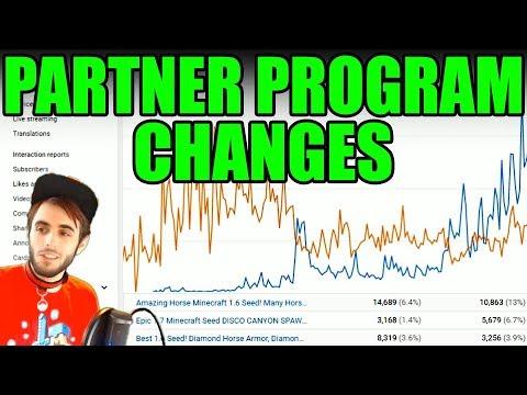 Youtube Partner Program Changes BENEFITS ALL YOUTUBERS!