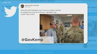 Gov. Kemp travels to southern Texas, Mexico border
