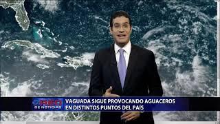 Vaguada sigue provocando aguaceros en distintos puntos del país