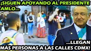 ¡ SIGUE RUGIENDO EL TIGRE ! LLEGAN MAS CIUDADANOS PARA APOYAR AL PRESIDENTE AMLO EN CDMX