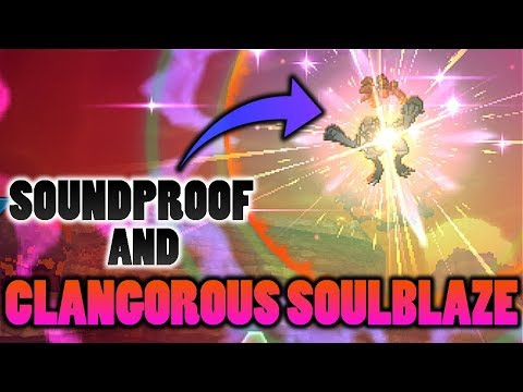 connectYoutube - Does Kommo-o's Clangorous Soulblaze Z-Move Get Blocked By Soundproof In Pokemon Ultra Sun and Moon?