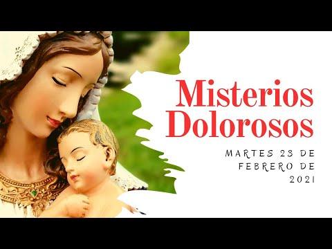 Rosario de Hoy    Martes 23 de Febrero   Misterios Dolorosos