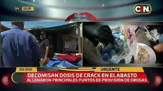 Decomisan dosis de crack en el Mercado de Abasto