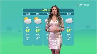 Así estarán las temperaturas en el departamento de La Paz en este inicio de semana