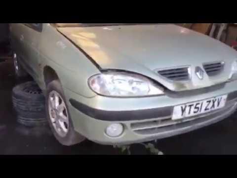 Renault Megane 2001 m dalys