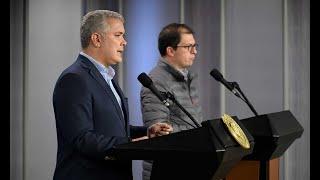 Declaración del Presidente Iván Duque y el Fiscal General de la Nación, Francisco Barbosa