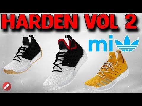 Designing the Adidas Harden Vol 2 on Miadidas!