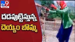 సోషల్ మీడియా వేదికగా దెయ్యం బొమ్మ హల్చల్ - TV9 - TV9