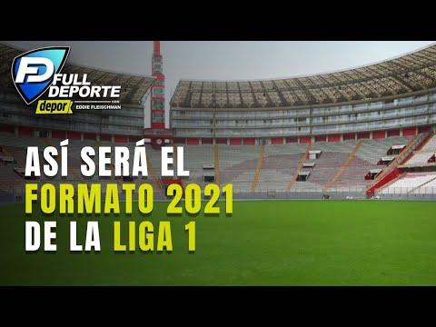 Así se jugará la Liga 1 este 2021