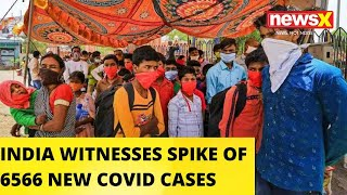 6566 Cases In Last 24 Hours, Taking COVID Tally To 1,58,333   NewsX - NEWSXLIVE
