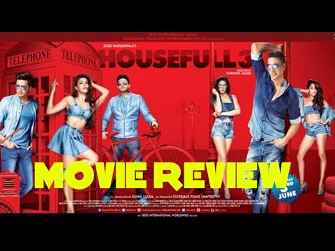 Housefull 3 Full Movie Review | Akshay, Abhishek, Riteish, Boman, Jacqueline, Nargis, Lisa, Jackie