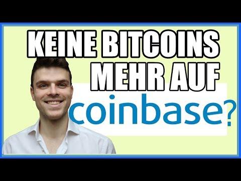 WTF?? Coinbase hat keine Bitcoins mehr!? Bitcoin ($20,000 BTC)