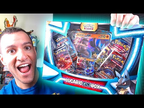 connectYoutube - IT'S HERE!!! - OPENING NEW POKEMON CARDS LUCARIO GX BOX!
