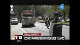 Acciones para prevenir accidentes de tránsito