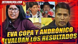 ???? EVA COPA Y ANDRÓNICO RODRIGUEZ EVALÚAN LA DERROTA EN SEGUNDA VUELTA DEL MAS IPSP EN BOLIVIA ????????