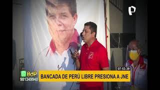 Bermejo no descarta participación de Cerrón en eventual gobierno de Pedro Castillo