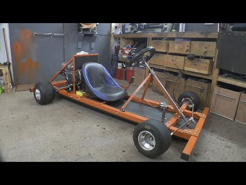 how to build a go kart step by step