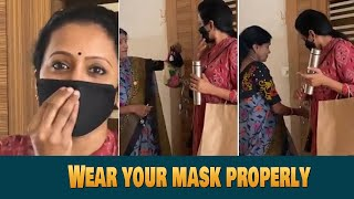 Anchor Suma Super Cute Video With Her Mom | #WearYouMask | #SumaRequests | IndiaGlitz Telugu - IGTELUGU