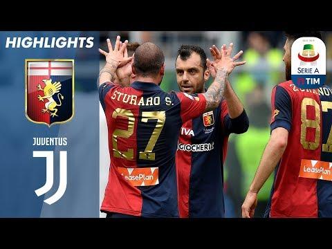 أهداف مباراة جينوة 2-0 جوفنتوس - البطولة الايطالية