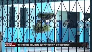 Mandatario guatemalteco ofreció tecnificación a las escuelas