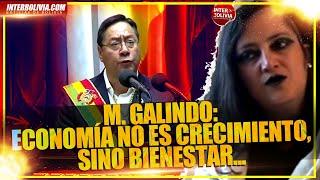 ???? MARIA GALINDO DEJA PROPUESTAS AL GOBIERNO DE L. ARCE QUE PIDE AGUANTAR ????