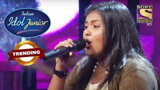 Govinda जी हुए इस Performance को देख कर Stun | Indian Idol Junior | Trending - SETINDIA