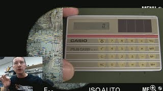 EEVblog #1078 - World's Thinnest Calculator Teardown!