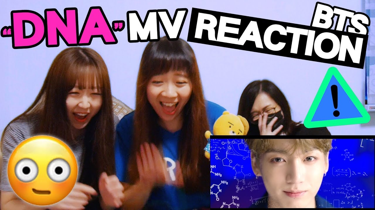 BTS (방탄소년단) 'DNA' Official MV (聲量注意!) [Reaction]   Army有嘢港