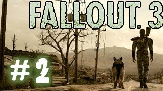 Fallout 3. Прохождение # 2 - Дневной свет.
