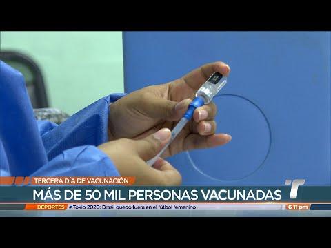 Más de 50 mil personas han sido vacunadas contra COVID-19 en San Miguelito