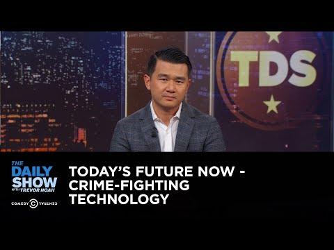 connectYoutube - Today's Future Now - Crime-Fighting Technology: The Daily Show
