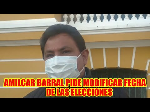 CANDIDATO A LA CALDÍA DE LA PAZ AMILCAR BARRAL PIDE SUSP3NDER ELECCIONES EN BOLIVIA...