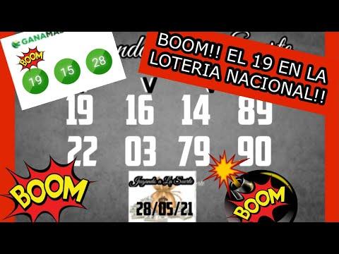 BOOM!! EL 19 LA LOTERIA NACIONAL
