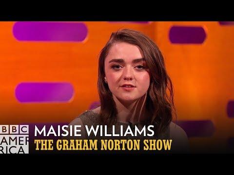 Maisie Williams Adds Tom Hanks and Anthony Joshua to Arya's Kill List - The Graham Norton Show