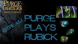 Dota 2 Purge plays Rubick