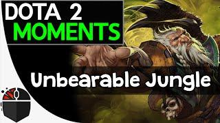 Dota 2 Moments - Unbearable Jungle