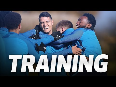 TRAINING | Spurs prepare for North London Derby