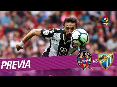Previa Levante UD vs Málaga CF