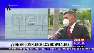 Se está realizando protocolos sanitarios a barco que trae hospitales: Marina Mercante