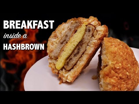 connectYoutube - BREAKFAST inside a HASHBROWN - VERSUS