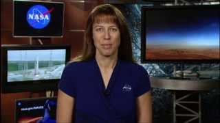 NASA | MAVEN MOI live shot with Kelly Fast