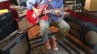 Gibson Custom 1963 ES-335 Block Reissue Cherry (Used) Quick n' Dirty