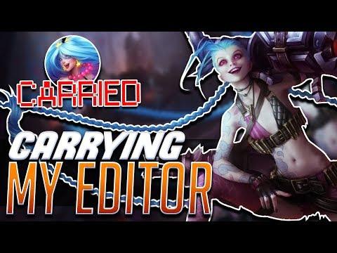 CARRYING MY EDITOR | Nicki Taylor