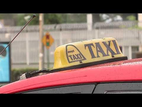 Gremio de los taxis rojos se manifestará este miércoles