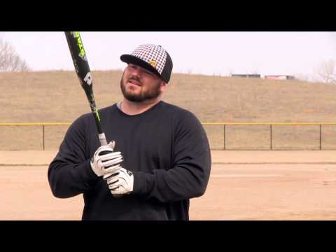 2014 DeMarini Stadium CL22: How Chris Larsen Grips the Bat  Video
