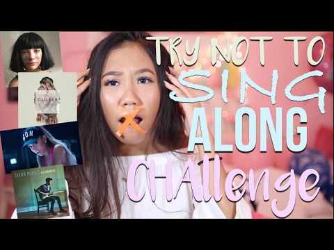 TRY NOT TO SING ALONG Challenge! *IMPOSSIBLE