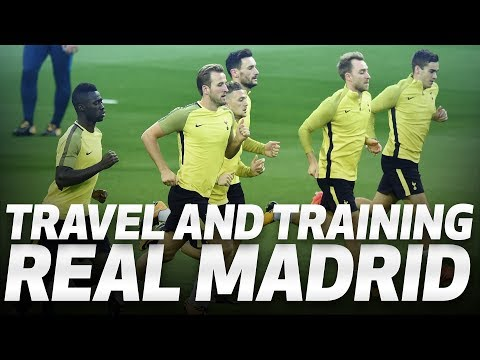 BEHIND-THE-SCENES | Spurs prepare for Real Madrid clash