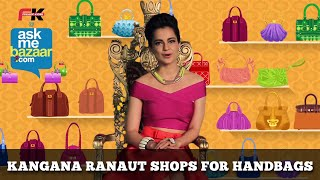 Kangana Ranaut shops Handbags at ASKME BAZAAR